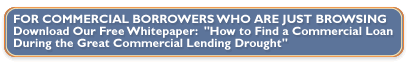 Commercial loan placement