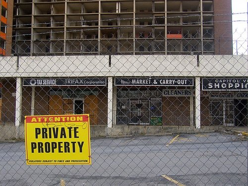 Foreclosed building