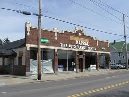 old commercial building