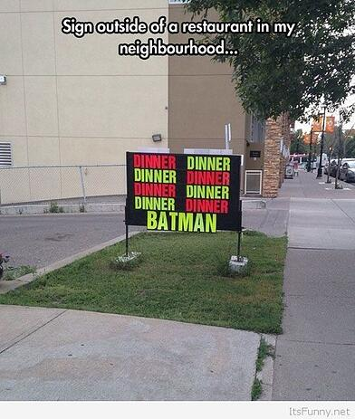 Batman-sign