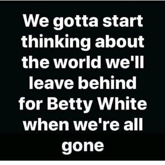 Betty White's World