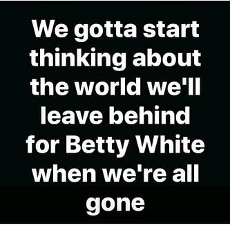 Betty White's World