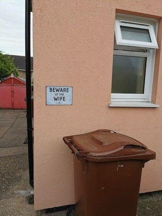 Beware the wife
