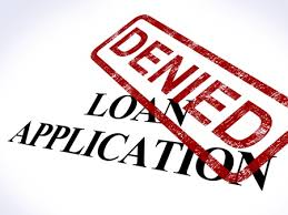 Commercial Loan Denied