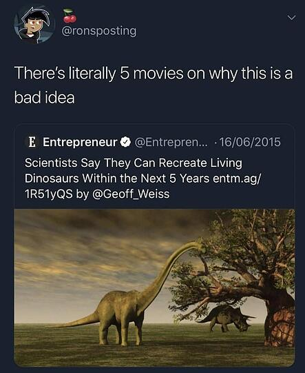 Dinos Coming Back