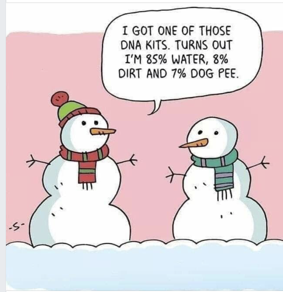 Frosty DNA