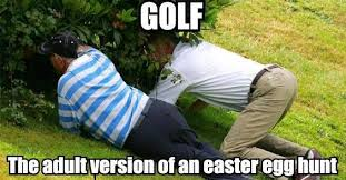 Golf Easter Eggs