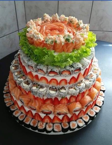 S ushi Cake