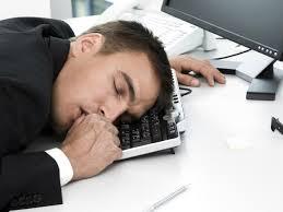 Sleepy banker
