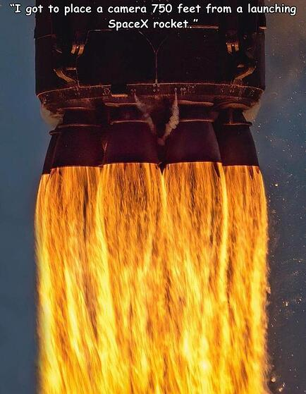 Space X thrusters