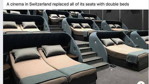 Sweedish movie seats