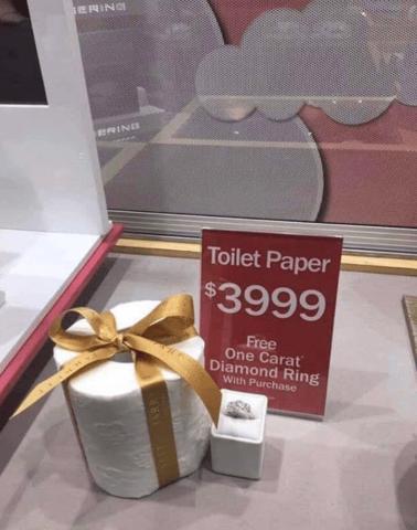 Toilet Paper Ring
