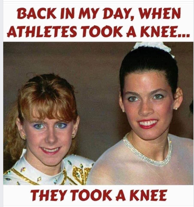 Took a Knee