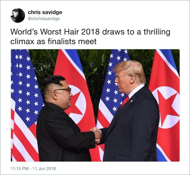 Worst hair