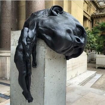 heavy-headed-statue