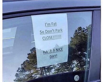 please-do-not-park-too-close