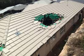 roof hole
