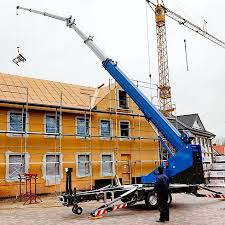 small construction crane